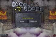 Theatre of Blood login screen