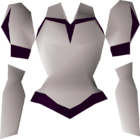 White elegant blouse detail