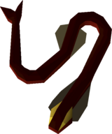 Infernal eel detail