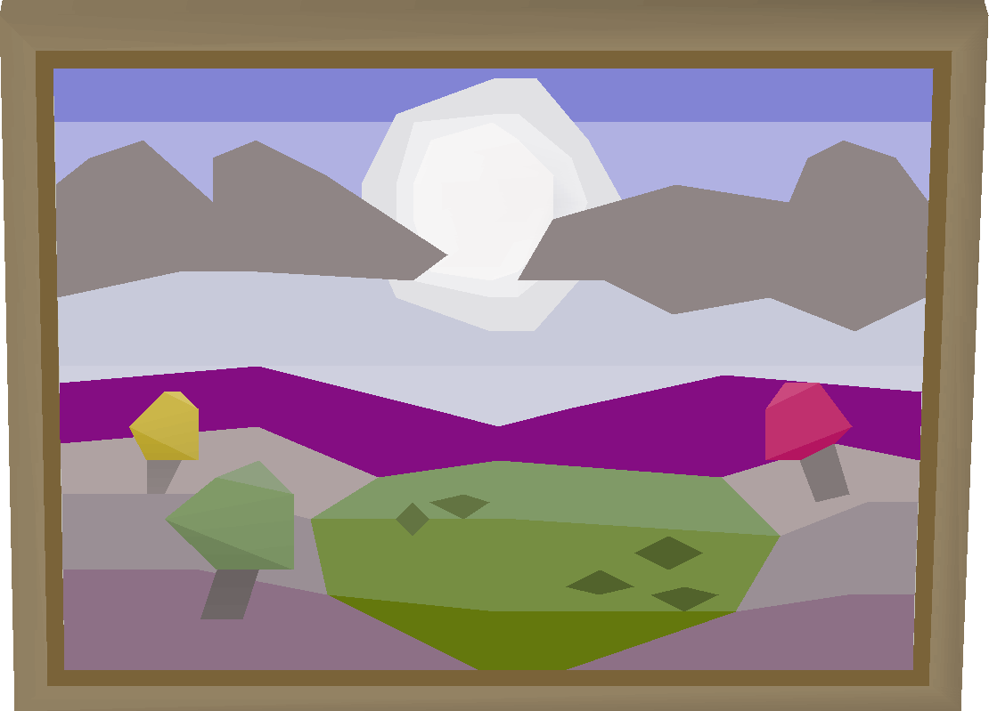 Morytania painting