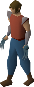 Rune claws equipped