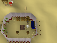 Cryptic clue - search boxes tents al kharid
