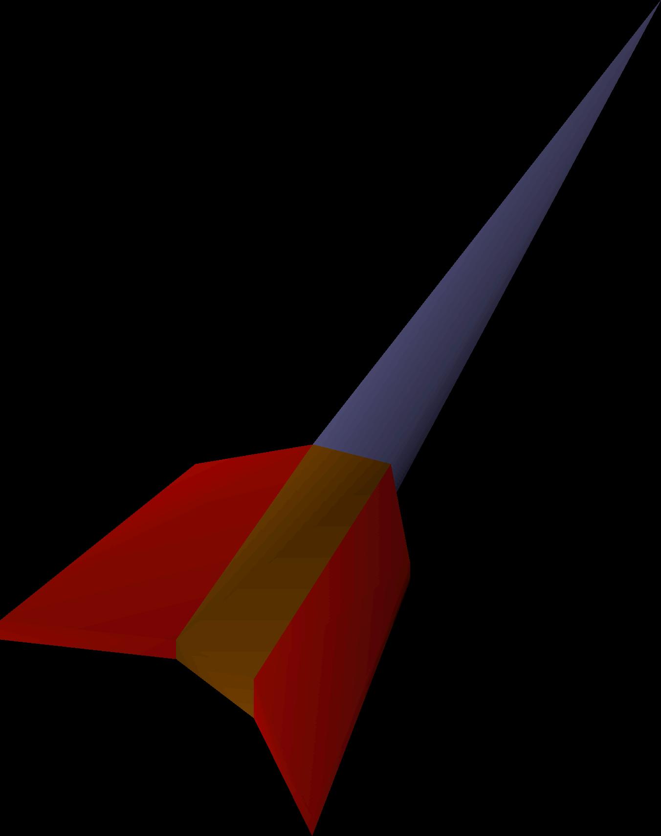 Mithril dart detail