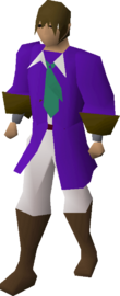 Prince outfit equipped