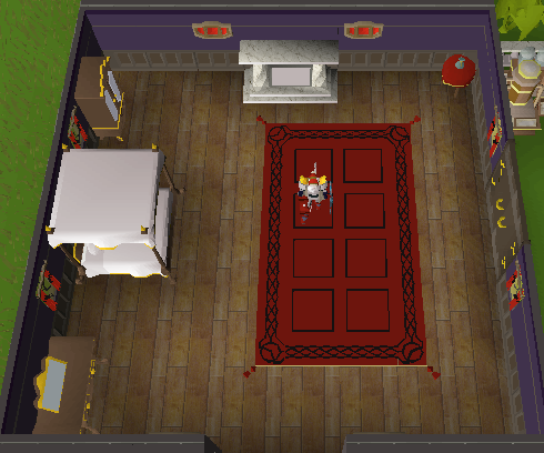how to make a bedroom osrs