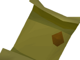 Goblin champion scroll