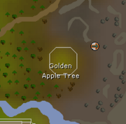 Golden Apple Tree map