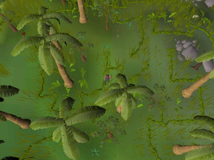Hot cold clue - near hunting icon
