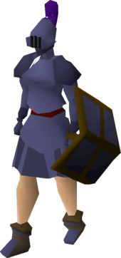 Mithril plateskirt equipped