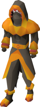 Pyromancer outfit equipped