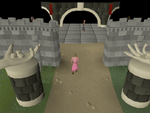 Emote clue - dance ge entrance