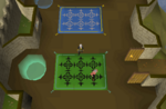 Emote clue - yawn castle wars lobby