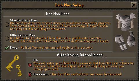 Ironman Mode (2)