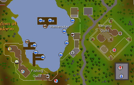 Hemenster map