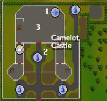 Merlin's Crystal - NPC locations