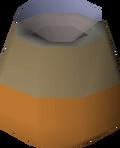 Smouldering pot detail