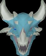 Vorkath's stuffed head detail