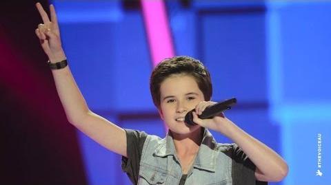 Video - Jack Sings Classic The Voice Kids Australia 2014
