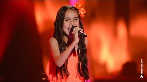 Video - Belinda Jo Sings Volare The Voice Kids Australia