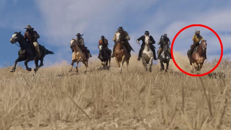Red Dead Redemption 2 female rider