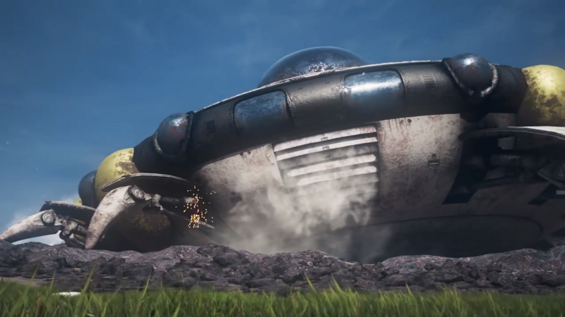 Frieza's spaceship from Dragon Ball
