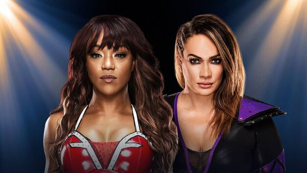 Alicia Fox and Nia Jax face off at WWE Clash of Champions