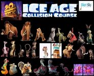 Ice Age Collision Course Animal Characters 102