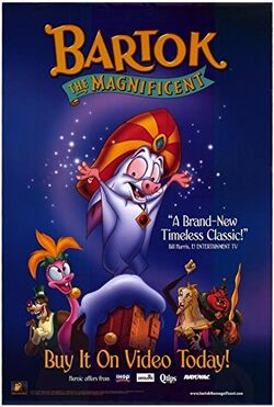 Bartok the magnificent poster home video