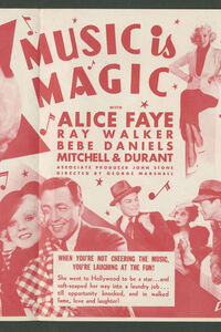 Music Is Magic (1935) Poster