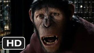 Rise of the Planet of the Apes Official Trailer 2 - (2011)
