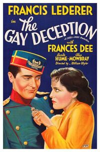 The Gay Deception (1935) Poster