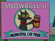 Snowball II Municpal Cat Park