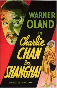 Charlie Chan in Shanghai (1935) Poster