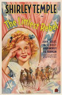The Littlest Rebel (1935) Poster