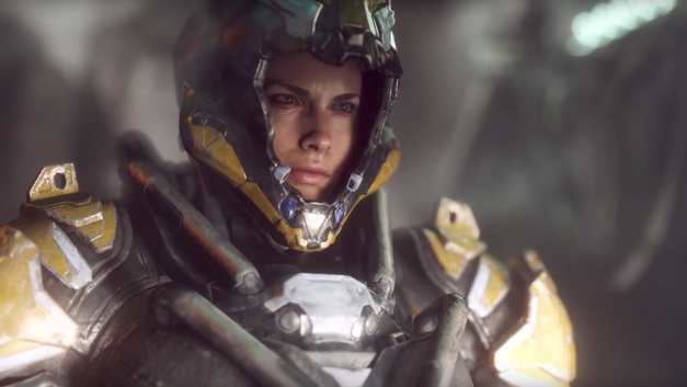 PlayStation Hosts Xbox One X Anthem Trailer with Photoshopped Buttons, Pulls It