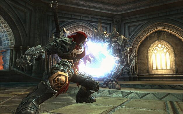 A screenshot of Darksiders.
