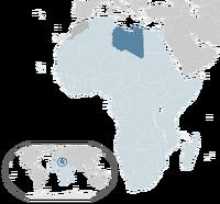 Location Libya AU Africa(R7)