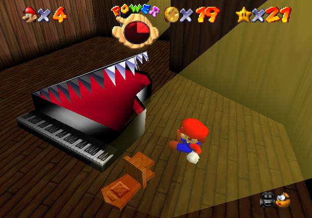 big boo's haunt piano room