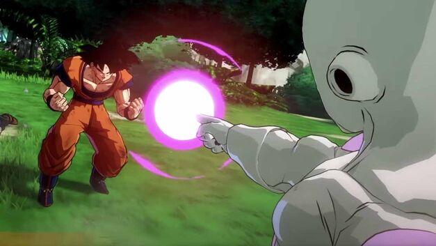 Frieza defeats Goku soul