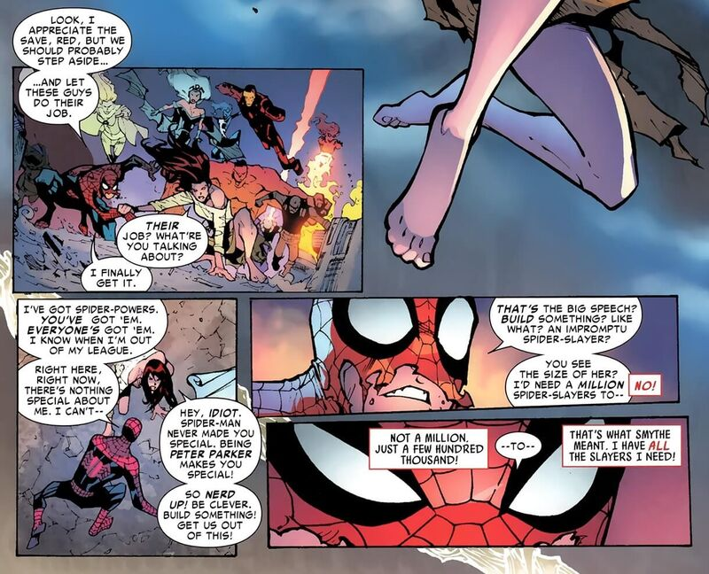 Spider-Man Peter Parker Made You Special Spider-Island