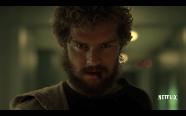 Iron Fist Face Comic Con SDCC2016 teaser