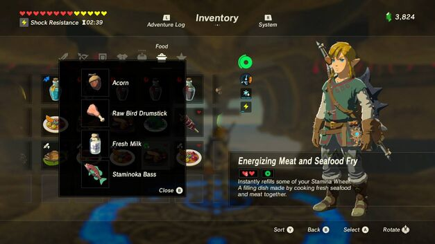 Full legend of zelda breath of the wild recipe book with meals zelda breath of the wild recipes forumfinder Images