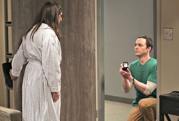 Sheldon proposes in The Long Distance Dissonance