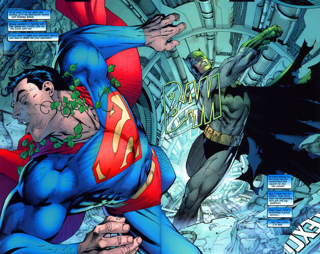 Batman Superman Hush 612
