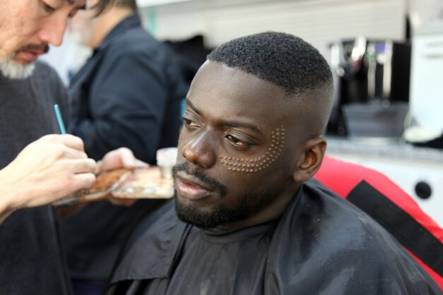 Black Panther Makeup W'Kabi