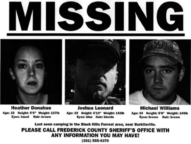 blair witch history missing