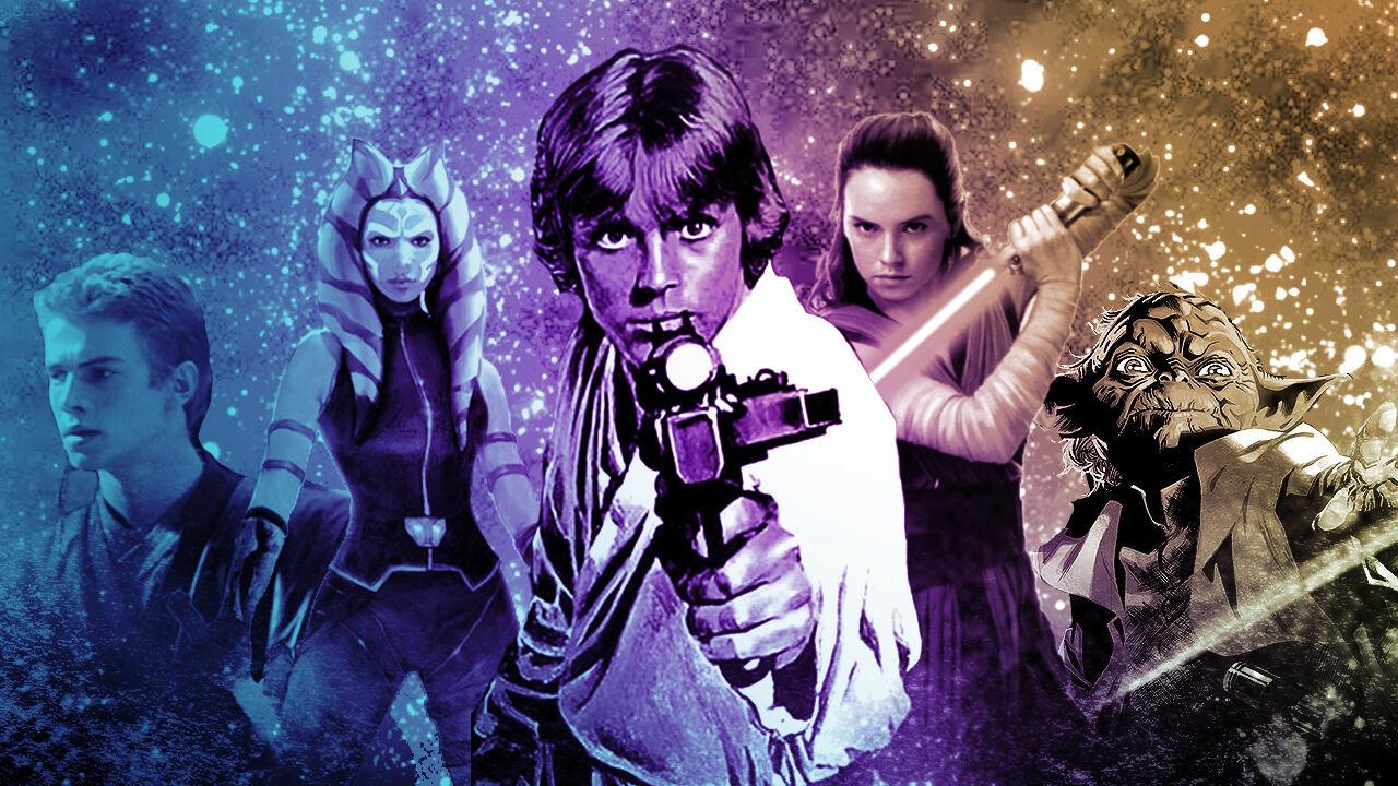 the complete star wars saga timeline updated  fandom