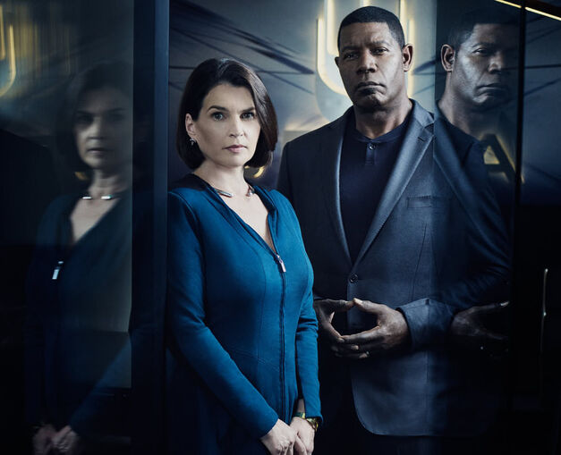 INCORPORATED Julia Ormond as Elizabeth Krauss, Dennis Haysbert as Julian --