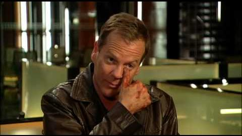 Entrevista a Kiefer Sutherland Final de la Serie