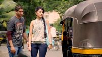 In1x18 Veer and Simran rickshaw